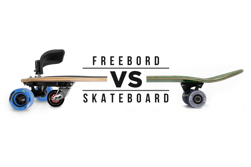 Different Stokes For Different Folks || Freebord vs Skateboard
